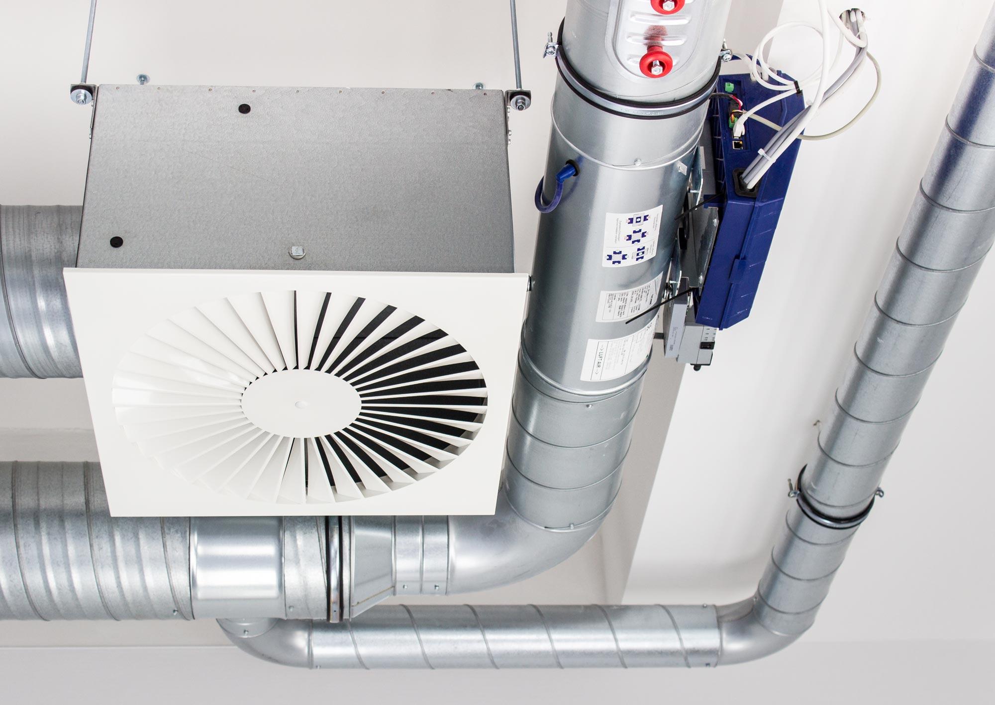 Installation av ventilationssystem i Kävlinge, Lund, Landskrona, Malmö, Helsingborg m.fl.
